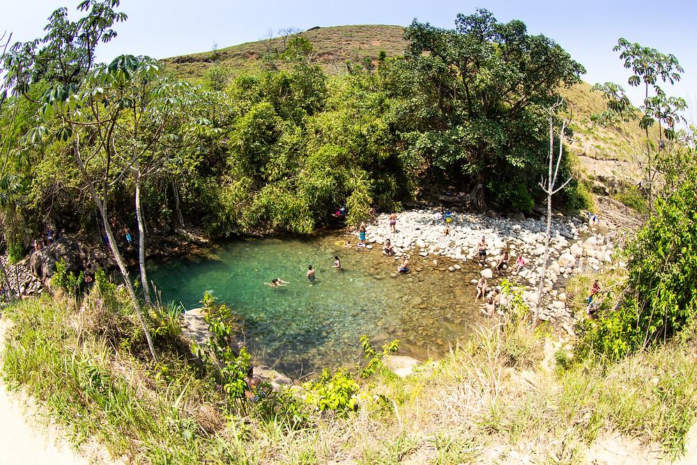 cachoeira da pedreira, lavrinhas, são paulo