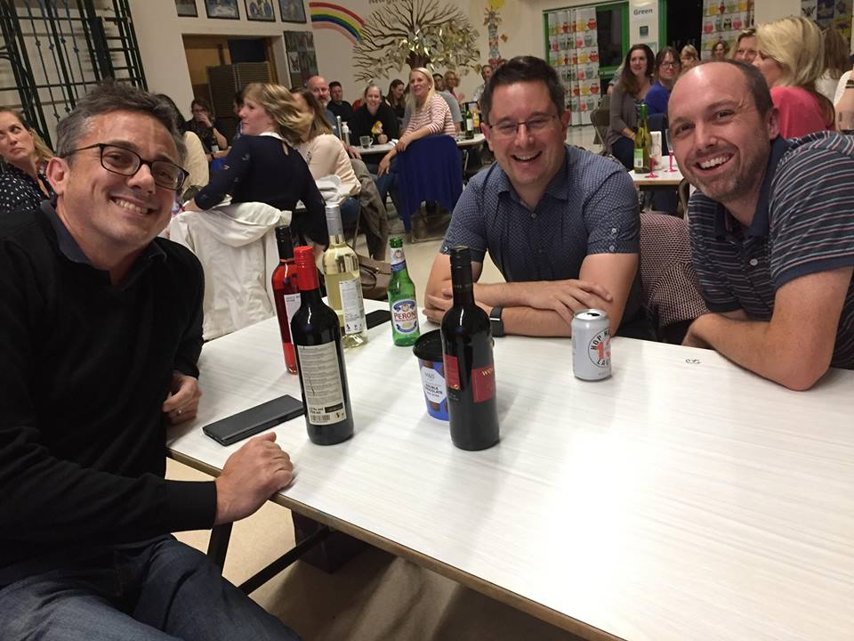 AGM Quiz Night 2018 - Winning team
