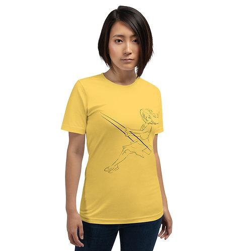 Croczile Short-Sleeve Woman T-Shirt
