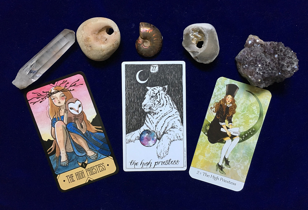 High Priestess Cards