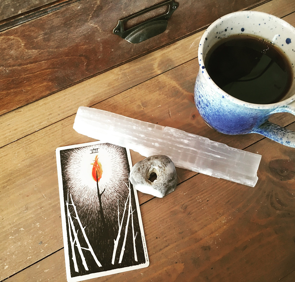 7 Wands - Wild Unknown Tarot
