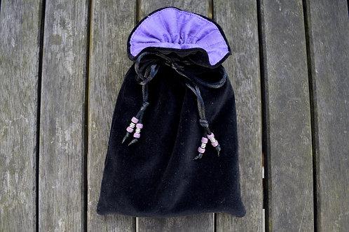 Black / Lavender