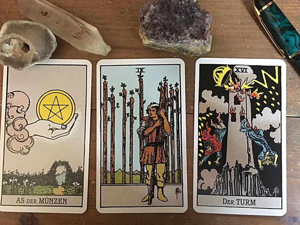 3 card tarot reading, Rider-Waite-Smith Tarot