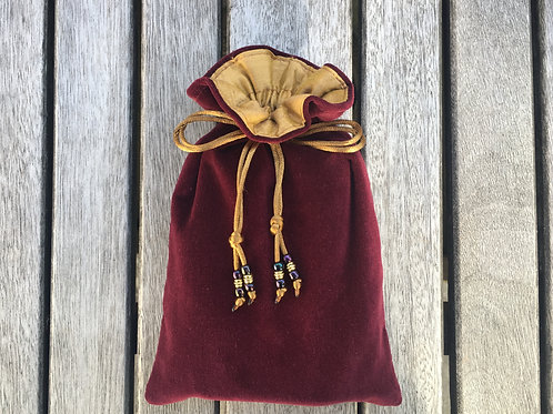 Burgundy / Deep Gold