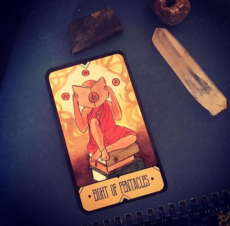 tarot card of the day, Sasuraibito Tarot