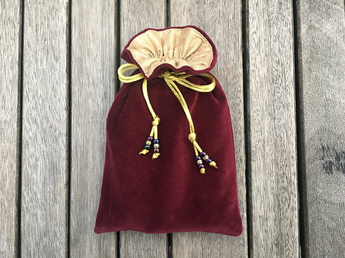 Burgundy / Antique Gold