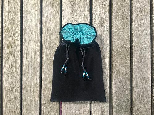 Black / Aqua