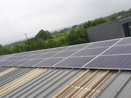 Multiple 12kWp arrays in Cookstown