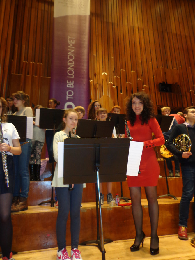 Guildhall students perform with LSO at Queen's Medal for Music concert