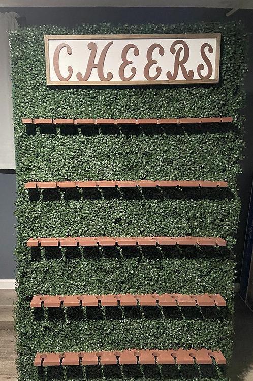 Grass Champagne Wall
