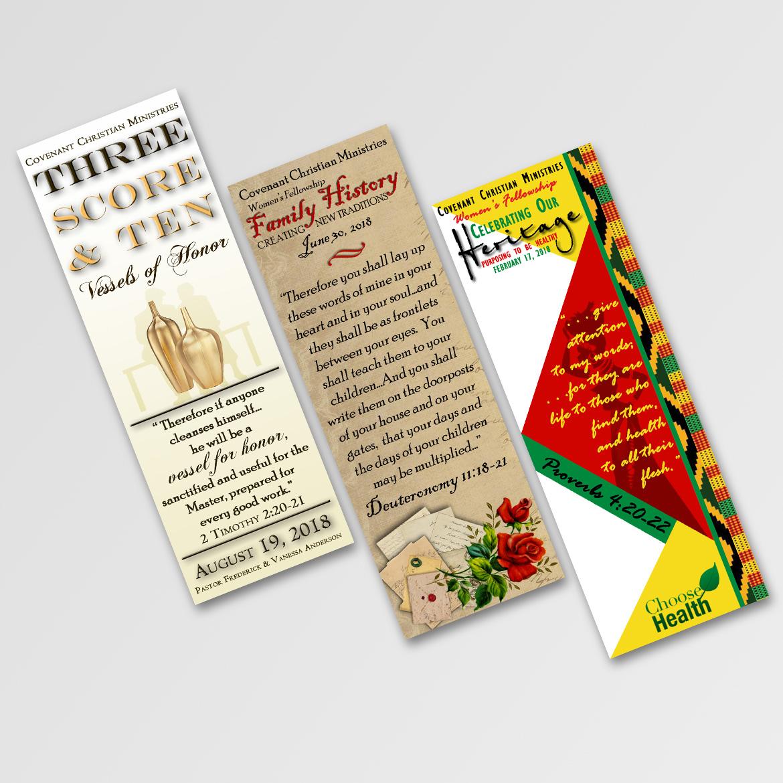 Bookmark mockup