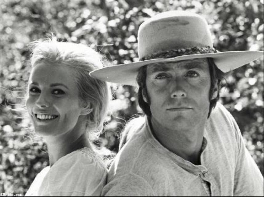 Jean Seberg & Clint Eastwood