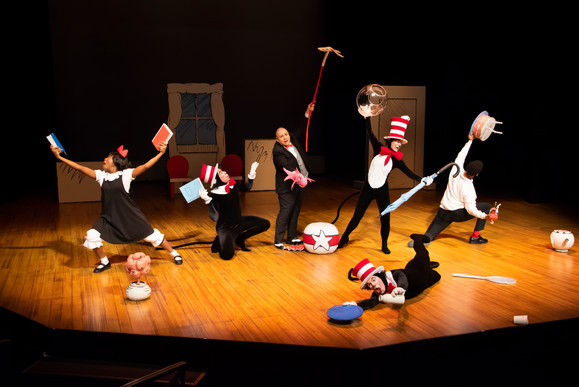 12. the cast of the cat in the hat - asf