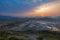 Polavaram dam, Andhra Pradesh, India