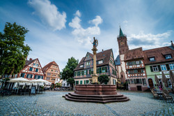 Oldenburg City center, Germany