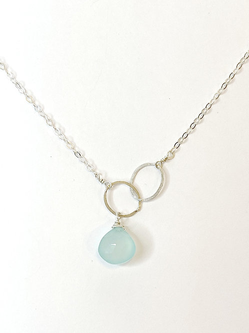 Chalcedony on Sterling Silver