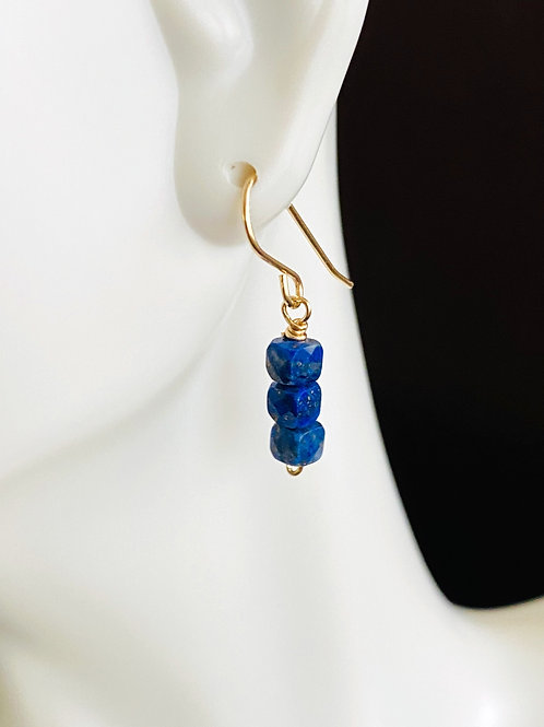 Lapis stack in gold