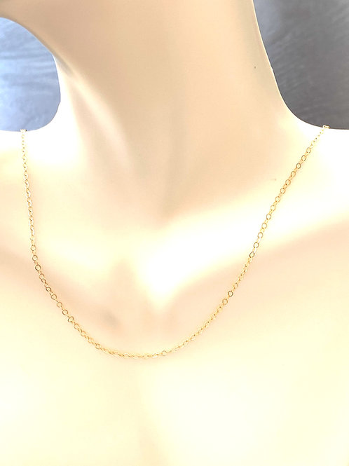 """18"""" Delicate14kt gold fill chain"""