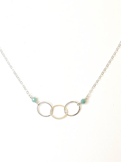 Amazonite on Sterling Silver