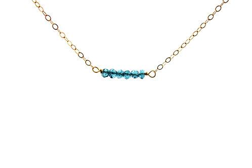 London Blue Topaz Necklace
