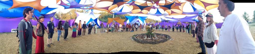 Festival environment & healing crew