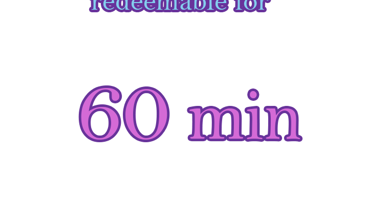 I AM HEALING 60-Minute Gift Certificate