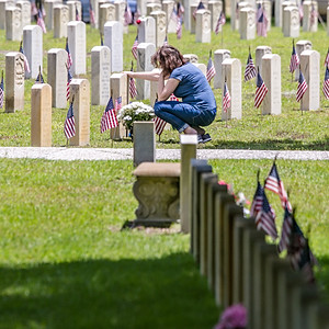 Memorial Day at Beaufort National Cemetery