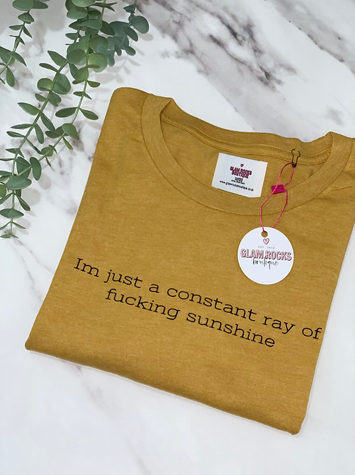 Constant Ray of F Sunshine - Size L