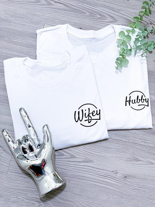 Wifey / Hubby -Tee