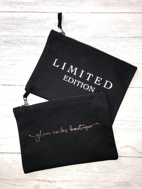 Choose Your Own Quote Zip Bag