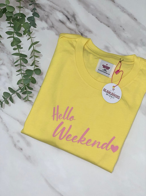 Hello Weekend - Size L