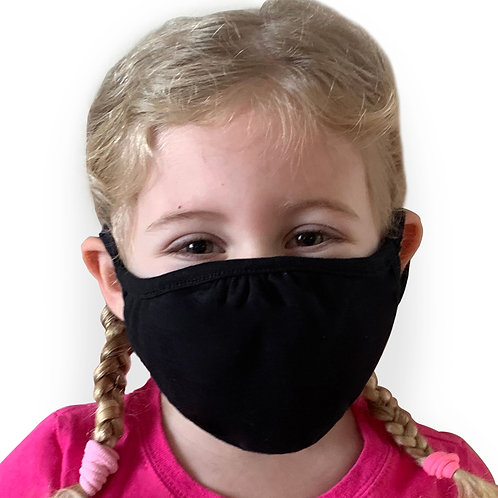 Face Covering Black - Kids