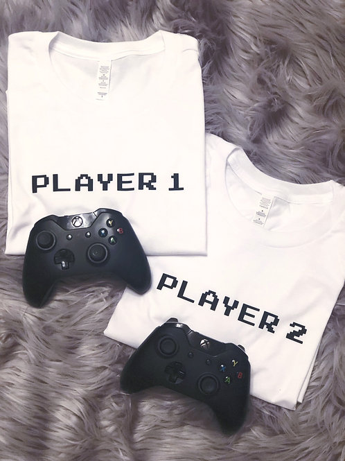 Player 1 & Player 2 - Tee (Adult)