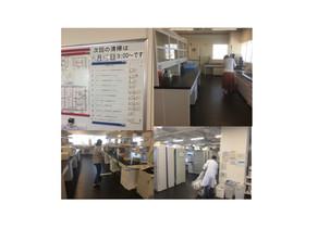 実験室の日常