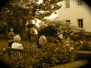 The Curious Croquet Corpse at Tullie House Museum, 25/07/2014