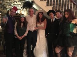 Nick and Laura's wedding