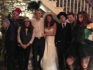 Murder at....a wedding!