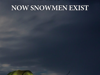 We Know Now Snowmen Exist - Big News!