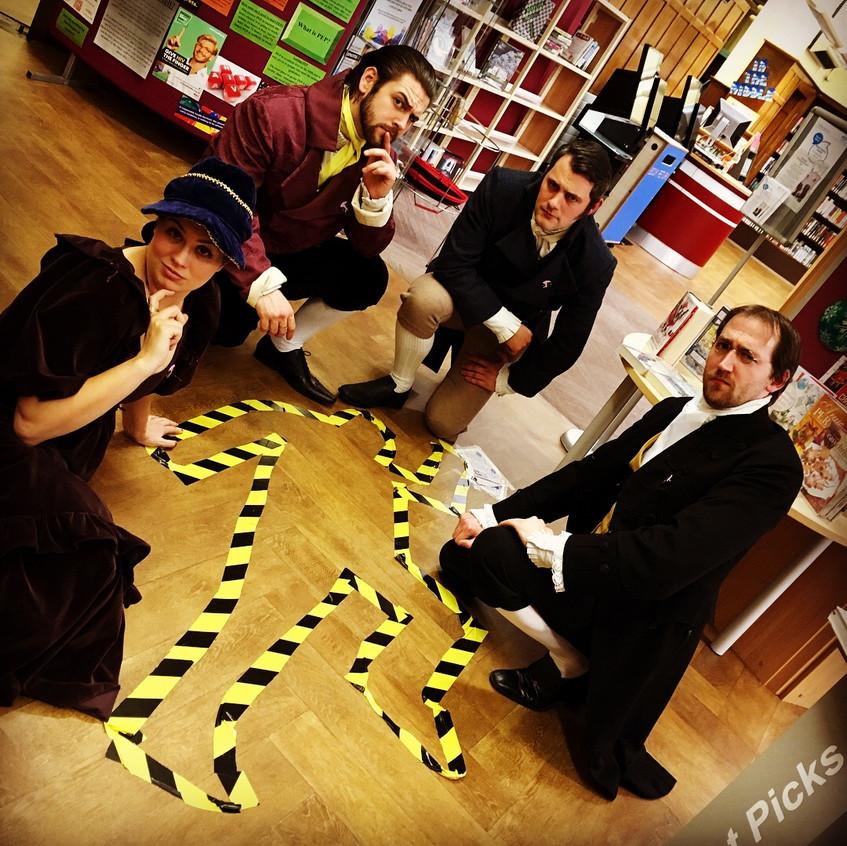 Barrow Library Crime Scene!