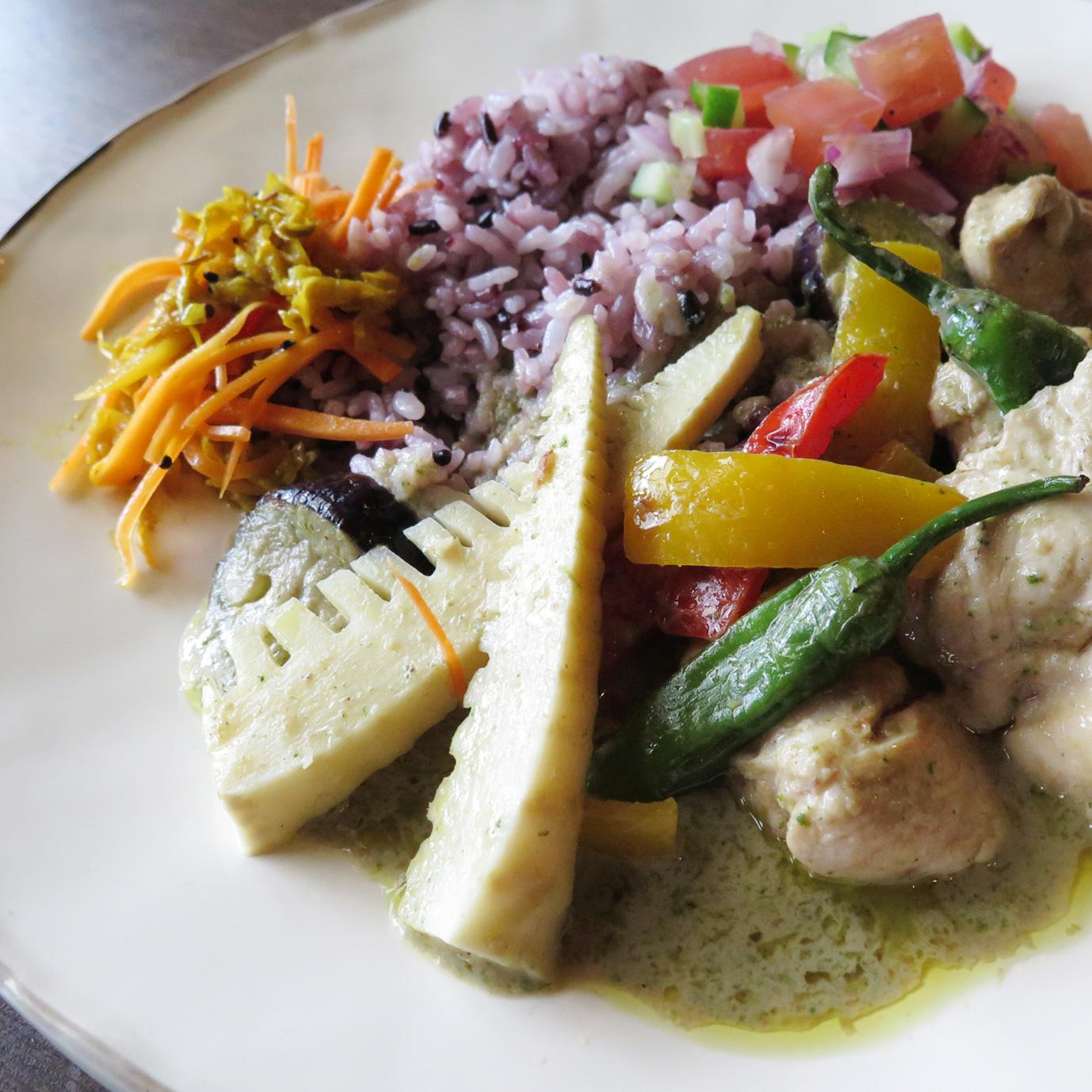 Thai green curry/タイグリーンカレー