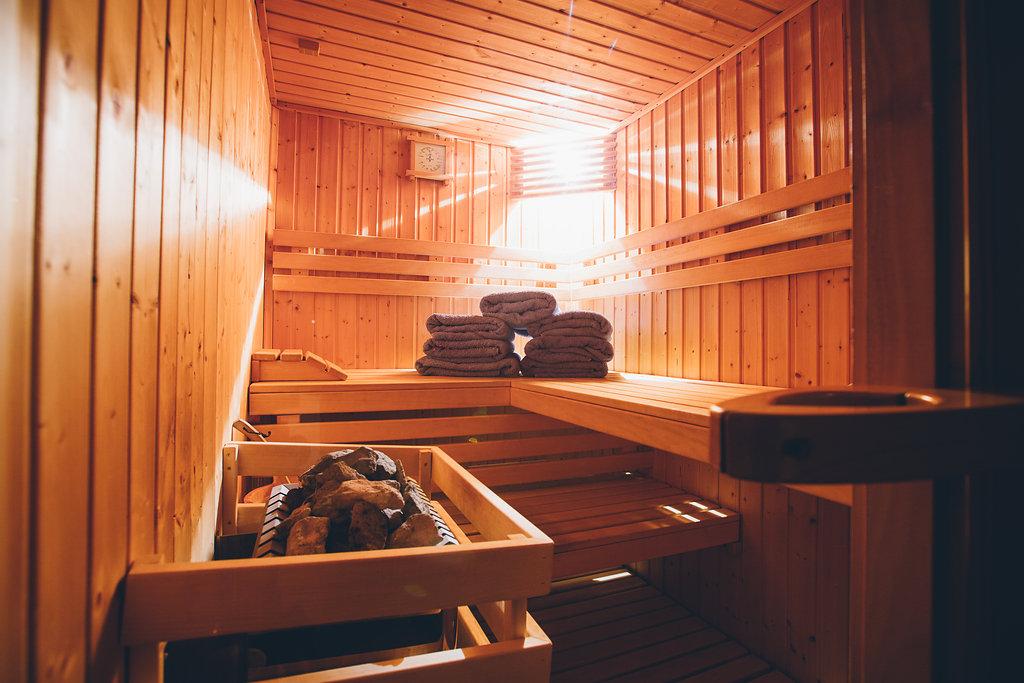 sauna meribel ski chalet