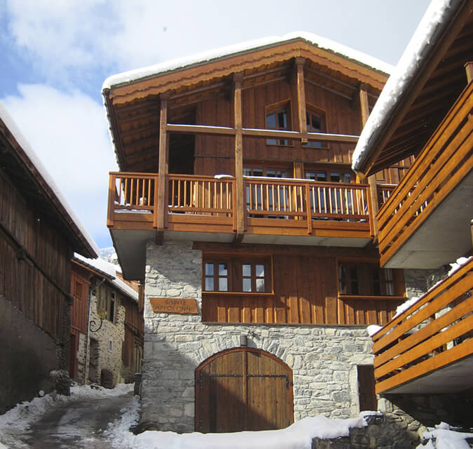 Chalet-frontal
