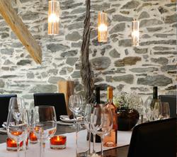dinner table the alpine club