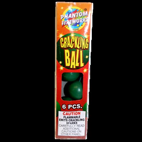 Crackling Balls  (6 pack )