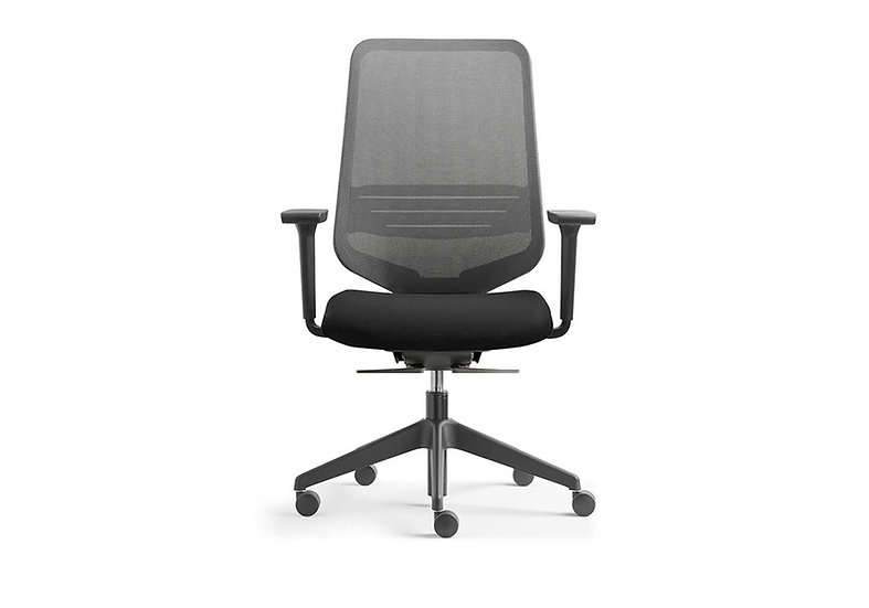 Silla ergonómica Dot Home black edition
