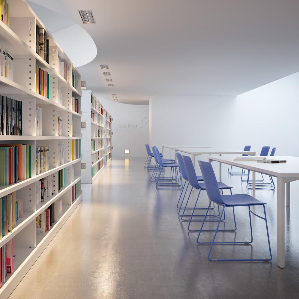 Sillas para bibliotecas