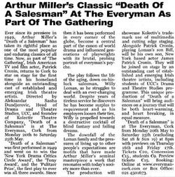 Death of a Salesman reportage