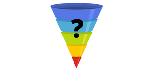 this image shows what is a sales funnel