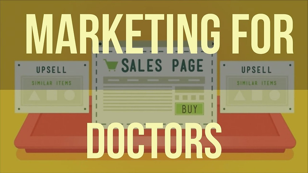 this image shows medical marketing