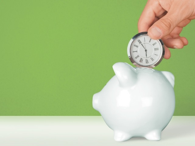 this image shows business time savings